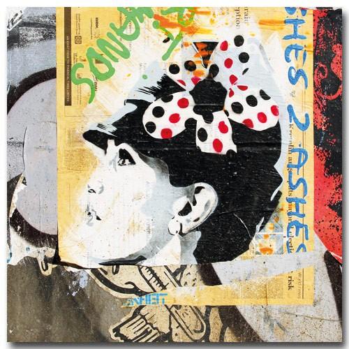 Woman Flower Hat