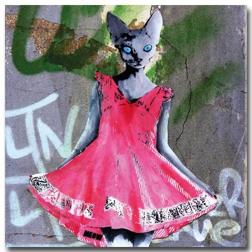 Cat pink Dress